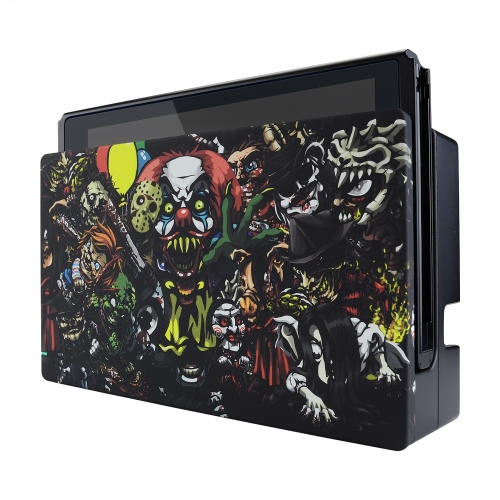 Coque Dock custom Chucky- Console Switch personnalisée - Draw my Pad - face droite