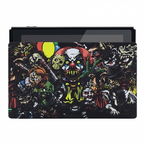 Coque Dock custom Chucky- Console Switch personnalisée - Draw my Pad - face