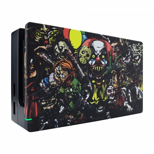 Coque Dock custom Chucky- Console Switch personnalisée - Draw my Pad - face gauche