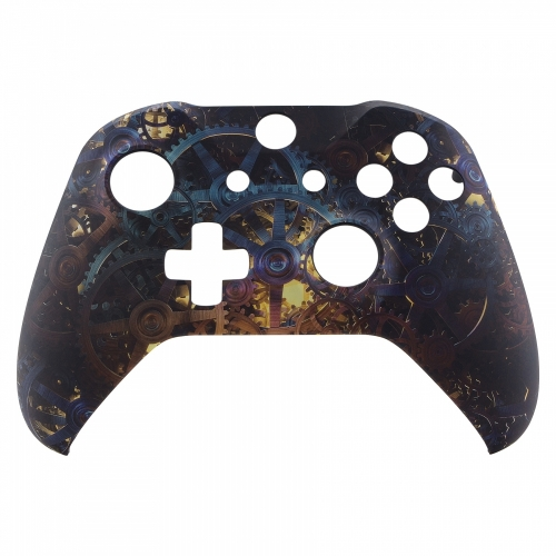 Coque Xbox One S/X custom Clockwork - personnalisation manette Xbox One S/X - Draw my Pad face 2