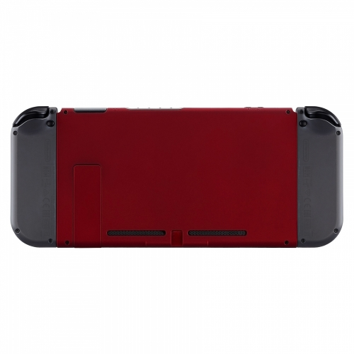 Coque arrière console switch soft touch rouge manette personnalisée Draw my Pad