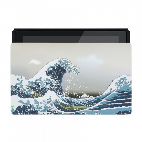 Coque Dock custom Grande Vague- Console Switch personnalisée - Draw my Pad - face