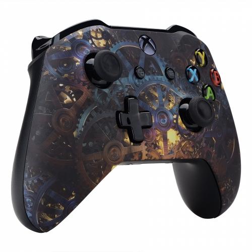 Manette Xbox One S/X custom Clockwork - personnalisation manette Xbox One S/X - Draw my Pad gauche