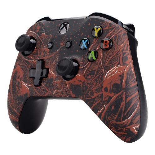 Manette Xbox One S/X custom Demoniak - Personnalisation Manette Xbox One - Draw my Pad- droit