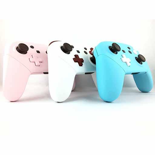 Manettes switch pro custom Draw my Pad - Switch pro personnalisées rose blanc et bleu
