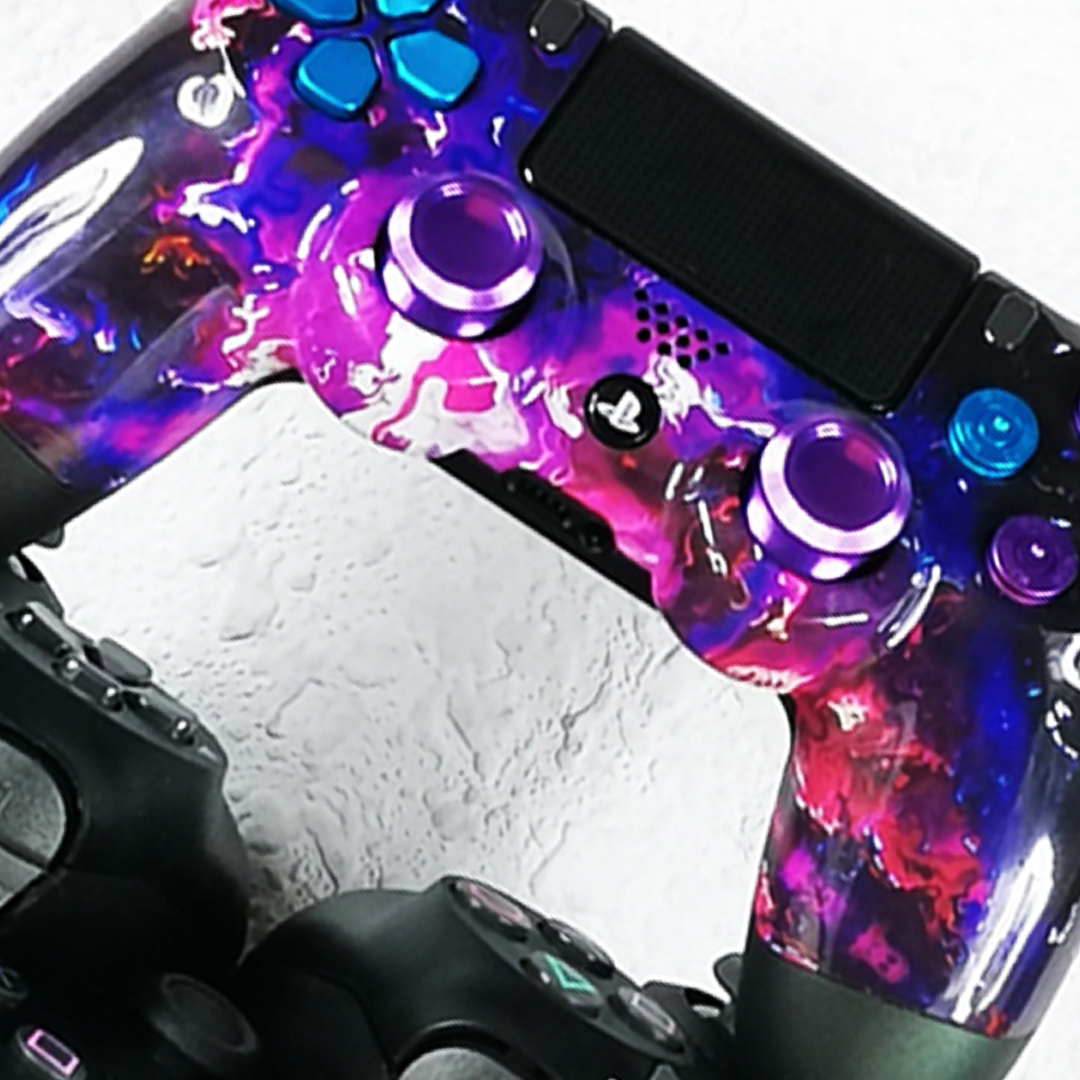 PS4 marble tour zoom manette pro