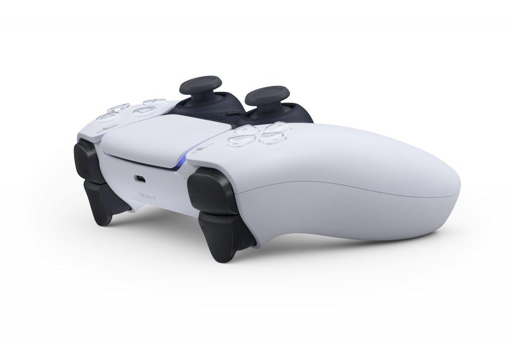 Nouvelle manette PS5 DualSense présentation exclusivité Draw my Pad vue de profil