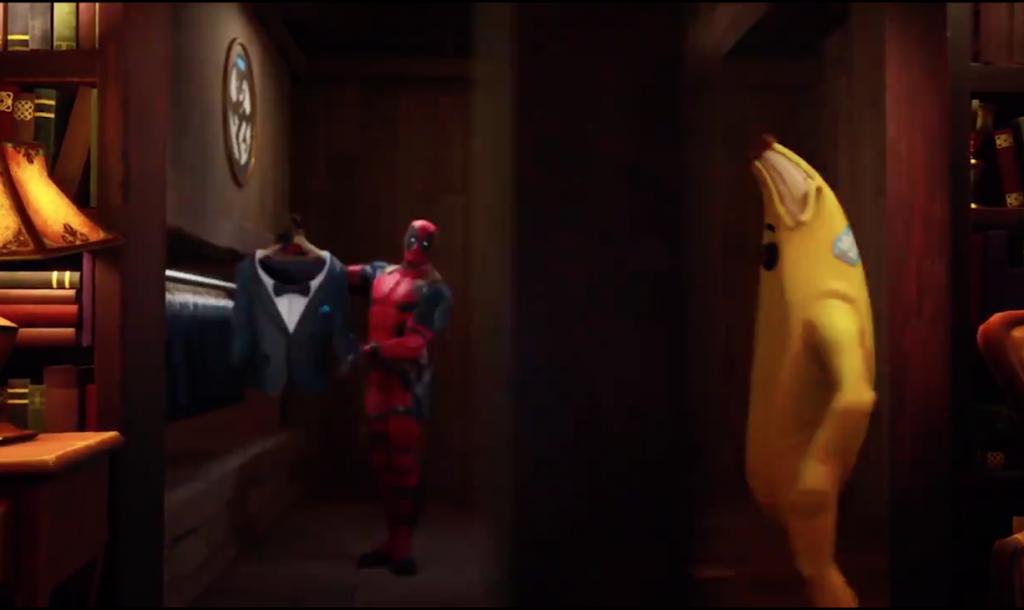 Deadpool aperçu dans le teasing de lancement de la saison 2 Fortnite