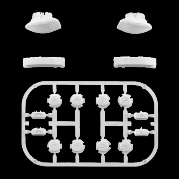 kit-gachettes-boutons-joycons-snow-custom-manette-switch-personnalisee-draw-my-pad
