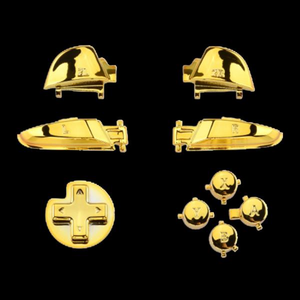 kit-gachettes-boutons-switch-pro-chrome-gold-custom-manette-nintendo-personnalisee-draw-my-pad