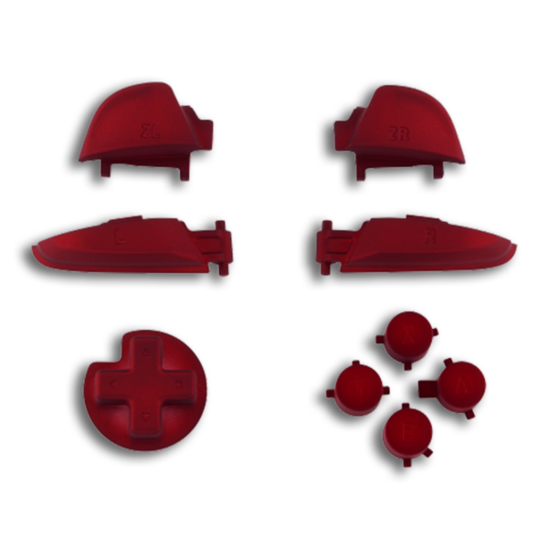 kit-gachettes-boutons-switch-pro-soft-touch-rouge-custom-manette-nintendo-personnalisee-draw-my-pad