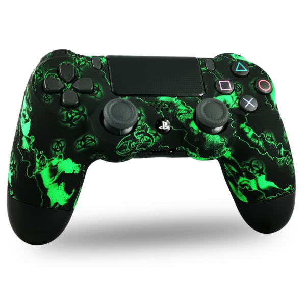 coque-PS4-custom-playstation-4-sony-personnalisee-drawmypad-green-toxic