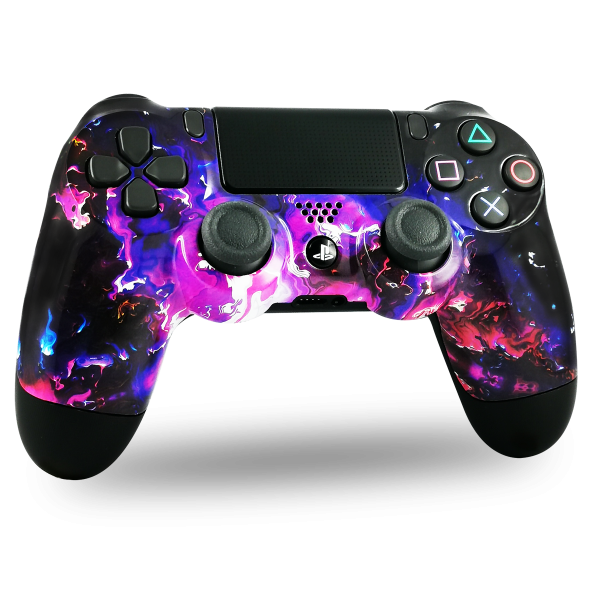 coque-PS4-custom-playstation-4-sony-personnalisee-drawmypad-magma