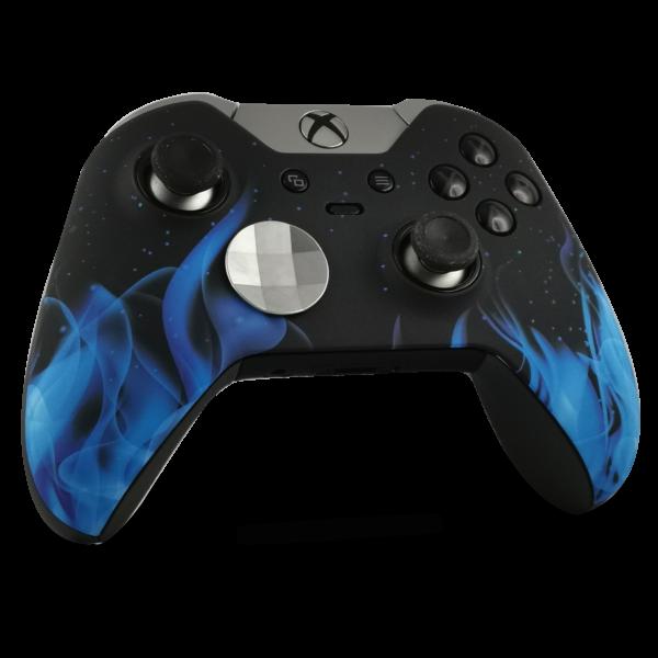 coque-XBOX-custom-elite-serie-1-personnalisee-drawmypad-blue-fire