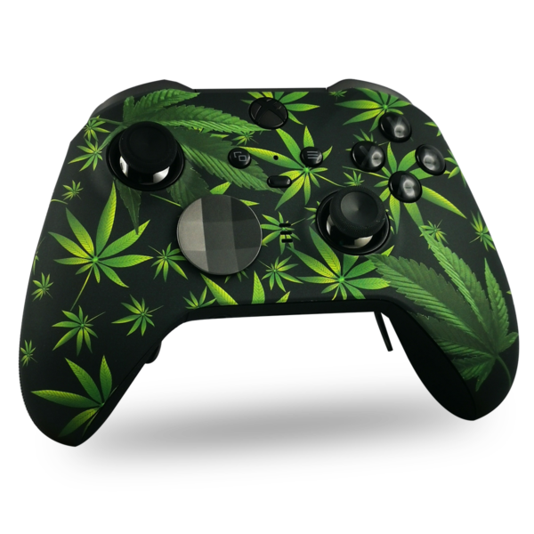 coque-XBOX-custom-elite-serie-2-personnalisee-drawmypad-Knadian-leaves