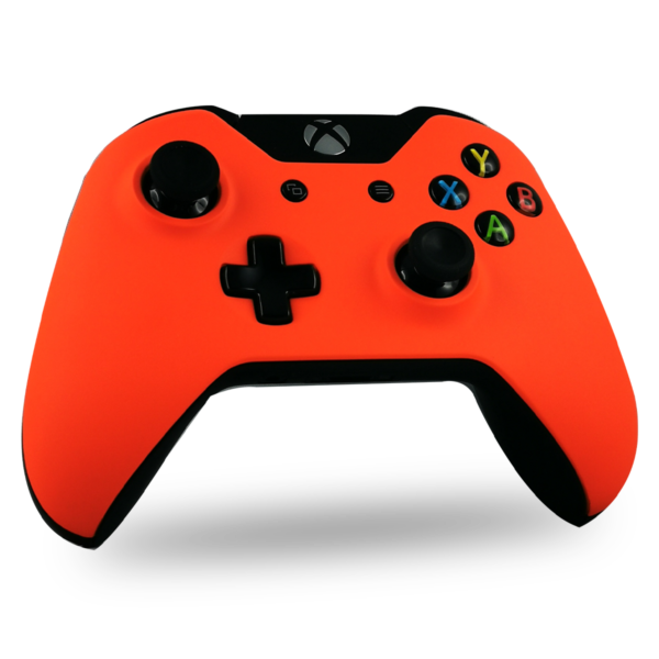 coque-XBOX-one-custom-personnalisee-drawmypad-orange