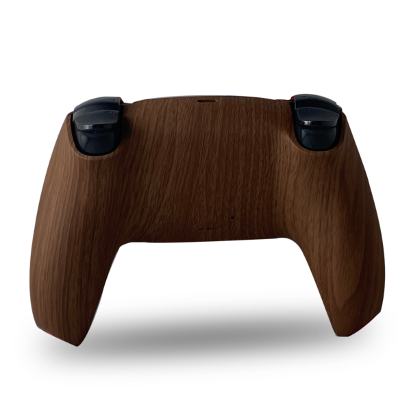 coque-arriere-manette-ps5-custom-wood-dualsense-personnalisee-drawmypad