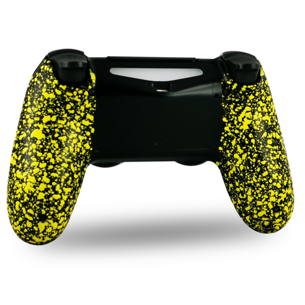 coque-arriere-personnalisee-PS4-manette-custom-playstation-4-grips-jaune