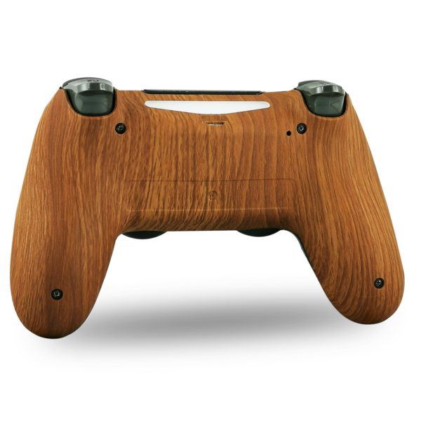 coque-arriere-personnalisee-PS4-manette-custom-playstation-4-wood