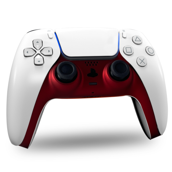 coque-centrale-manette-ps5-custom-red-soft-touch-personnalisation-dualsense-drawmypad