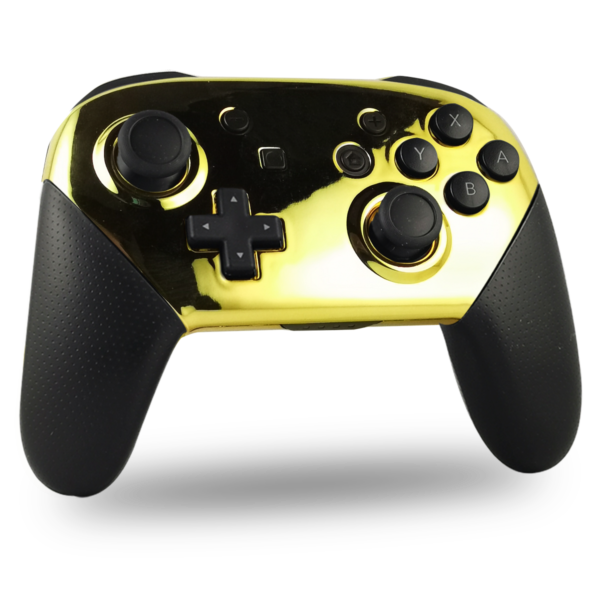 manette-switch-pro-custom-nintendo-personnalisee-drawmypad-chrome-gold