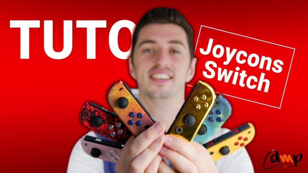Vignette Tutoriels Draw my Pad - Comment démonter vos Joycons grâce à nos tournevis Triwing Nintedo Switch