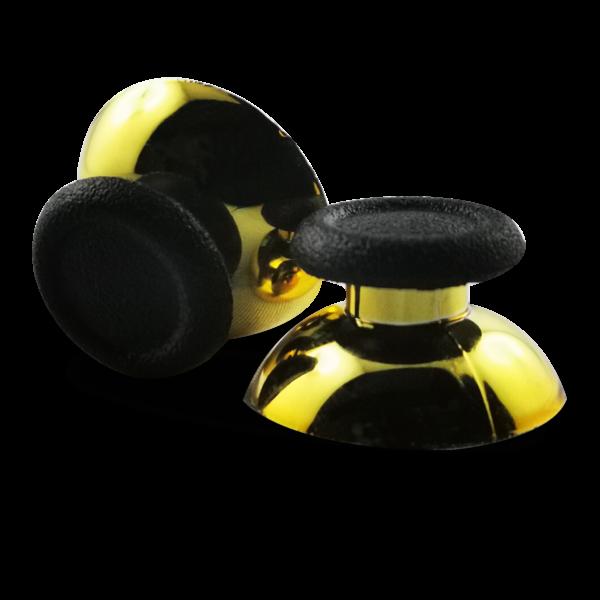 joysticks-PS5-custom-manette-personnalisee-drawmypad-chrome-or