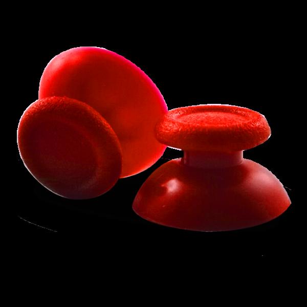 joysticks-PS5-custom-manette-personnalisee-drawmypad-couleur-rouge