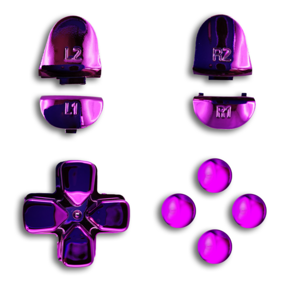 kit-PS4-custom-manette-personnalisee-drawmypad-chrome-violet