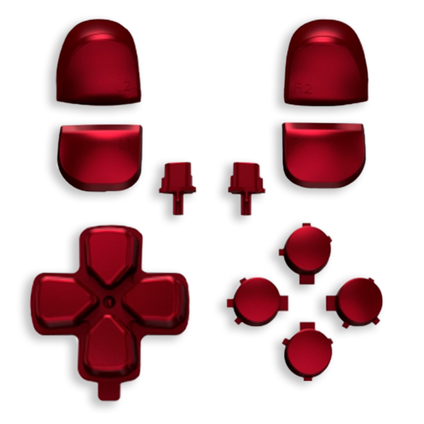 kit-boutons-gachettes-PS5-rouge-soft-touch-custom-manette-dualsense-personnalisee-drawmypad