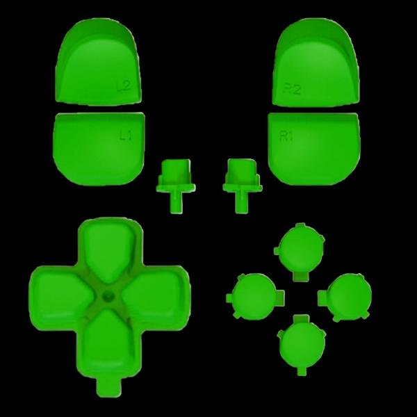 kit-boutons-gachettes-PS5-vert-vif-custom-manette-dualsense-personnalisee-drawmypad
