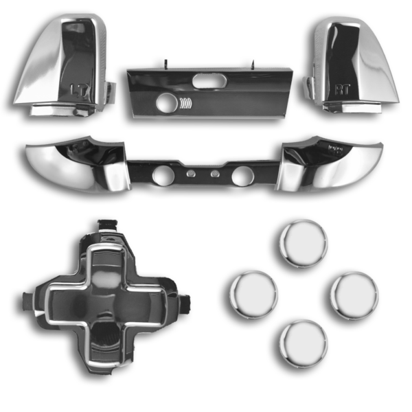 kit-XBOX-custom-manette-personnalisee-drawmypad-chrome-argent