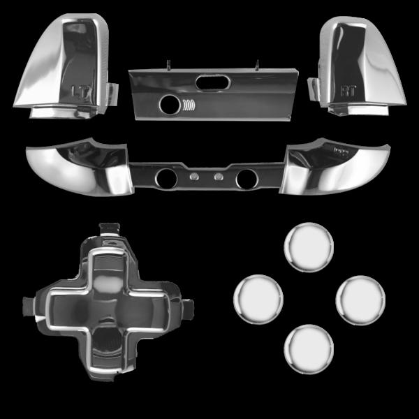 kit-XBOX-custom-manette-personnalisee-drawmypad-chrome-argent