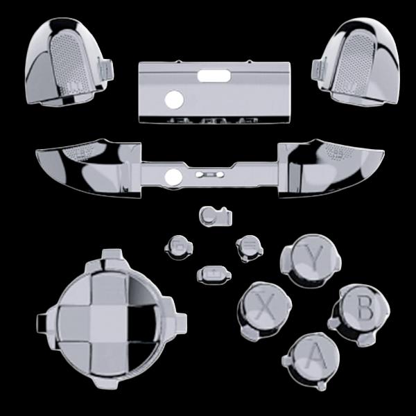 kit-XBOX-series-custom-manette-personnalisee-drawmypad-chrome-argent