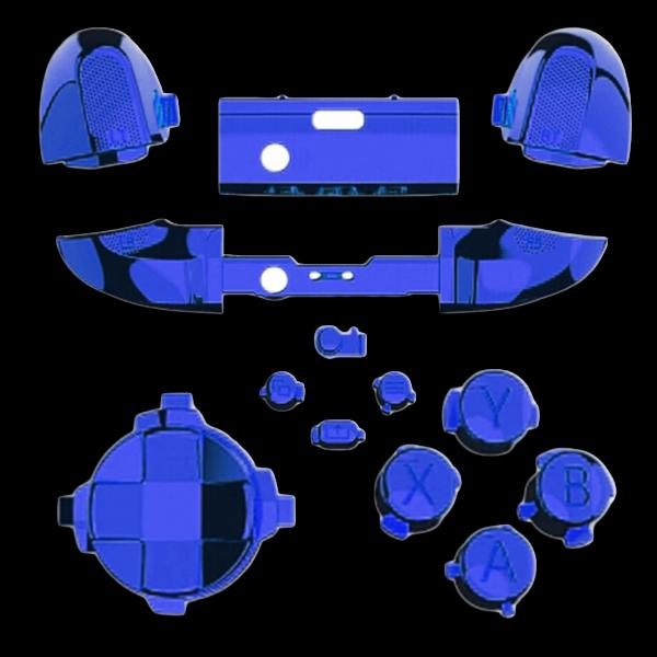 kit-XBOX-series-custom-manette-personnalisee-drawmypad-chrome-bleu