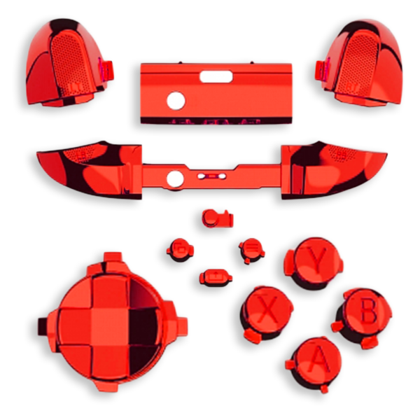 kit-XBOX-series-custom-manette-personnalisee-drawmypad-chrome-rouge