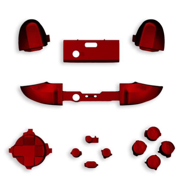 kit-XBOX-series-custom-manette-personnalisee-drawmypad-chrome-rouge-soft-touch