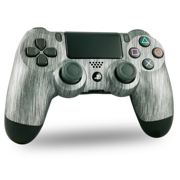 manette-PS4-custom-playstation-4-sony-personnalisée-drawmypad-metal-brush