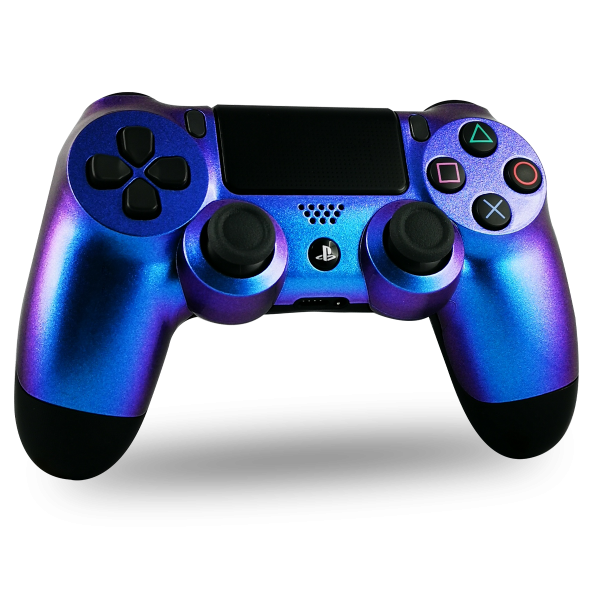 manette-PS4-custom-playstation-4-sony-personnalisee-drawmypad-cameleon