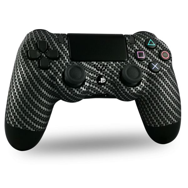 manette-PS4-custom-playstation-4-sony-personnalisee-drawmypad-carbone