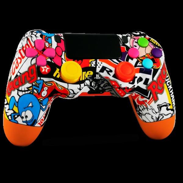 kit-boutons-gachettes-PS4-custom-playstation-4-sony-personnalisee-drawmypad-cartoon