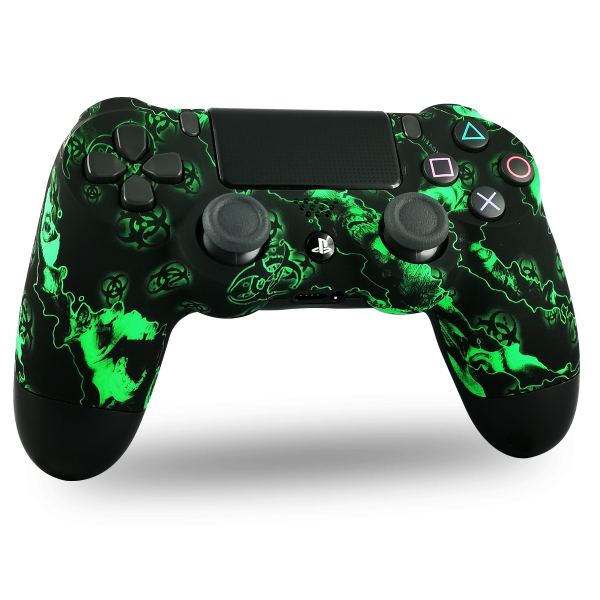 manette-PS4-custom-playstation-4-sony-personnalisee-drawmypad-green-toxic