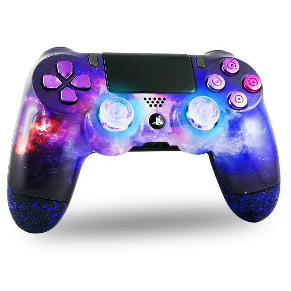 manette-PS4-custom-playstation-4-sony-personnalisee-drawmypad-nebuleuse-led