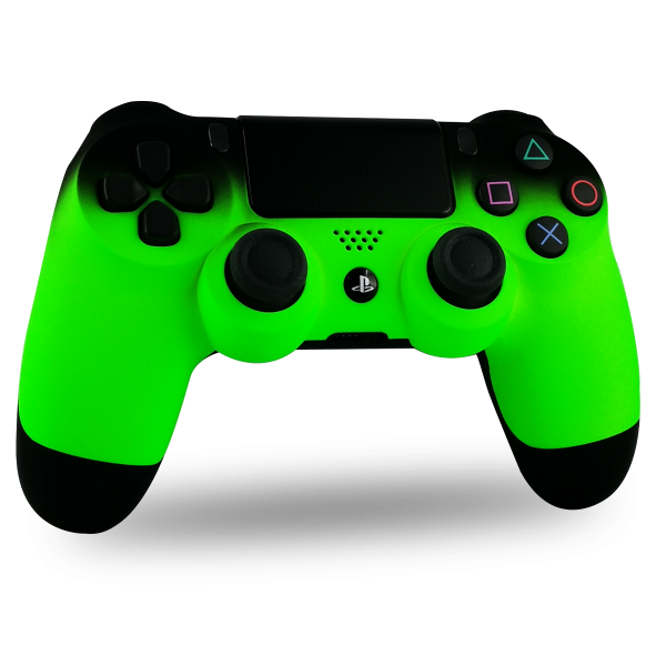 manette-PS4-custom-playstation-4-sony-personnalisee-drawmypad-shadow-green-soft-touch