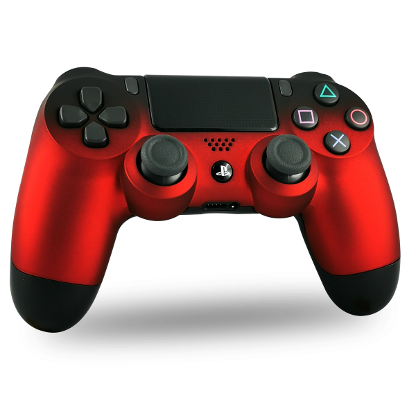 manette-PS4-custom-playstation-4-sony-personnalisee-drawmypad-shadow-red-soft-touch