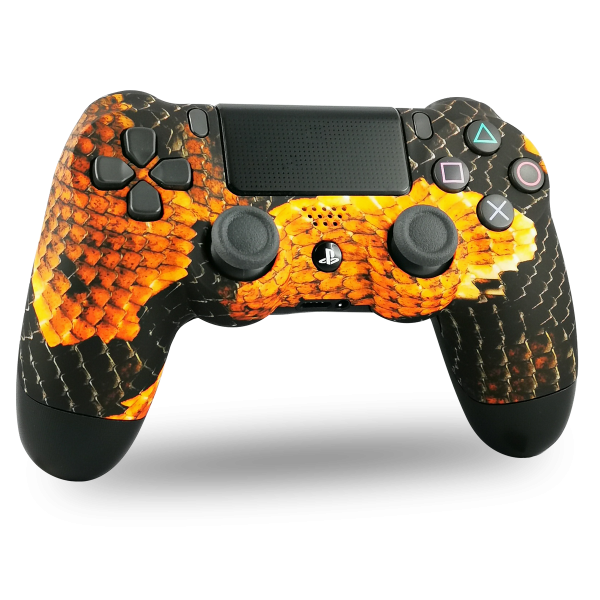 manette-PS4-custom-playstation-4-sony-personnalisee-drawmypad-snake