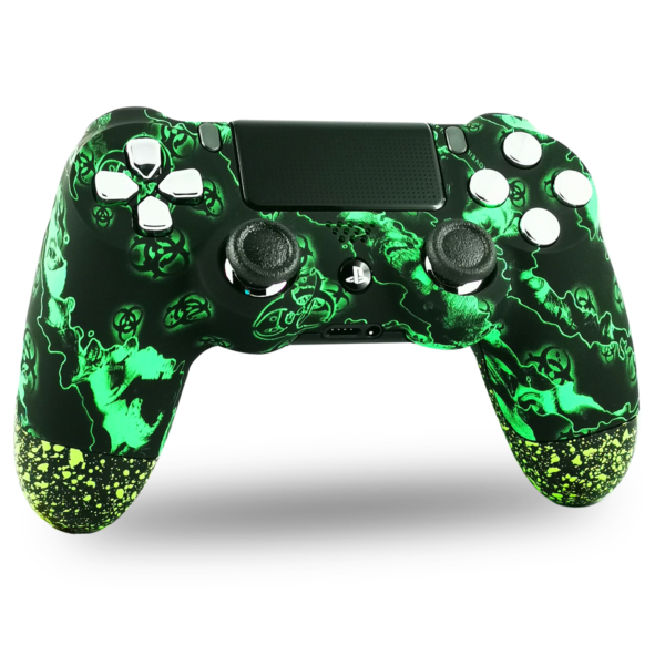 manette-PS4-custom-playstation-4-sony-personnalisee-drawmypad-tchernobyl