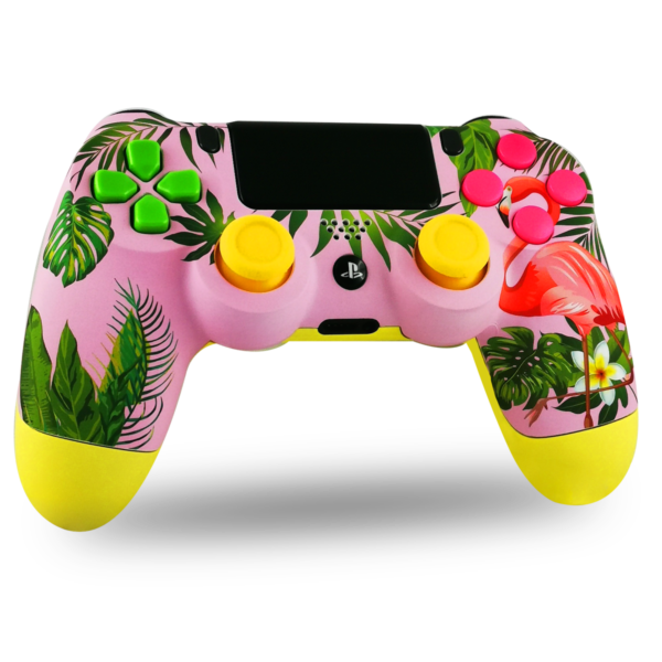 manette-PS4-custom-playstation-4-sony-personnalisee-drawmypad-welcome-to-paradise