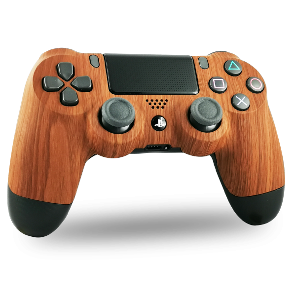 manette-PS4-custom-playstation-4-sony-personnalisee-drawmypad-wood