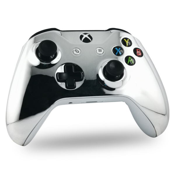 coque-XBOX-custom-S-personnalisee-drawmypad-chrome-argent